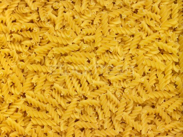 Full frame żółty żywności makaronu kultury Zdjęcia stock © prill