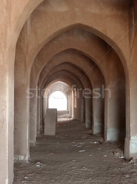 archway in Egypt Stock photo © prill