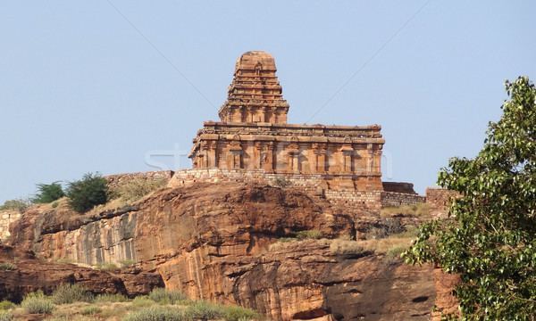 Upper Shivalaya Temple near Badami Stock photo © prill
