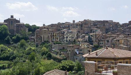 Siena in Tuscany Stock photo © prill
