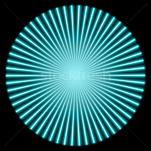 radial illustration Stock photo © prill