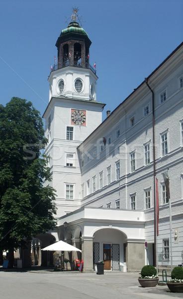 Salzburg street scenery Stock photo © prill