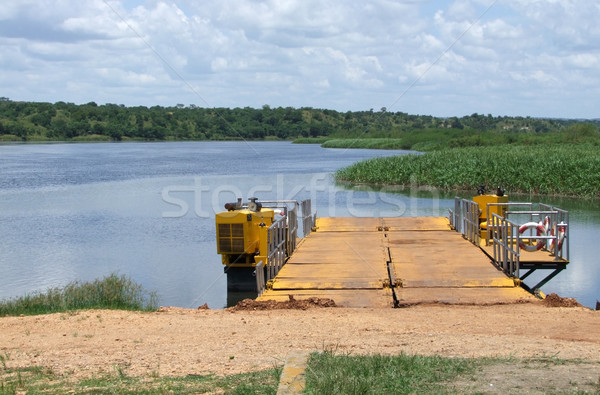 ferry pier at the White Nile Stock photo © prill