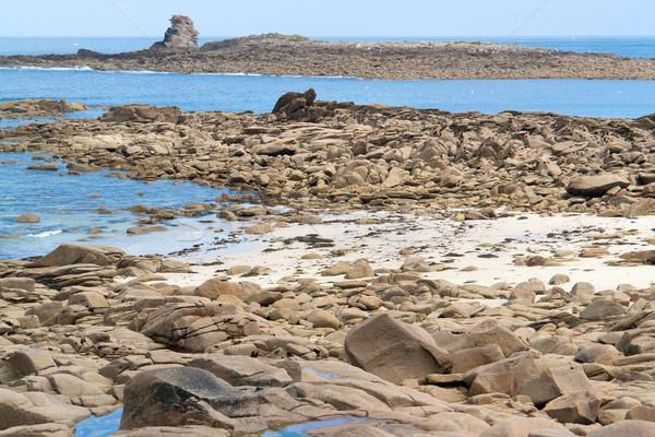 вокруг идиллический декораций пляж воды Сток-фото © prill