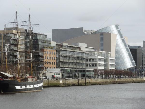 конвенция центр Дублин Ирландия дома город Сток-фото © prill