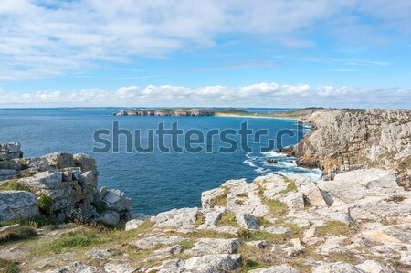 Crozon peninsula in Brittany Stock photo © prill