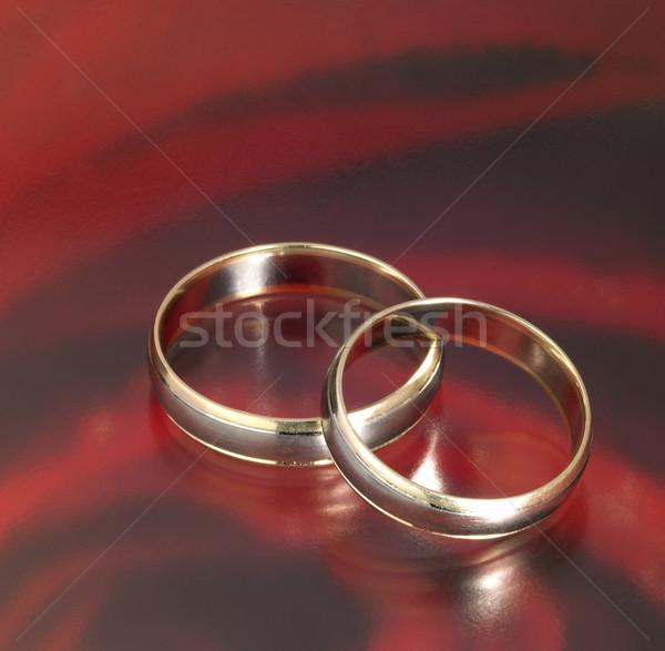 wedding rings Stock photo © prill