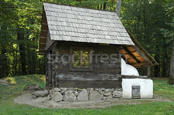 historic agricultural buildings Stock photo © prill