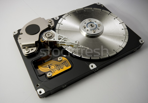 hard disk saw blade Stock photo © prill