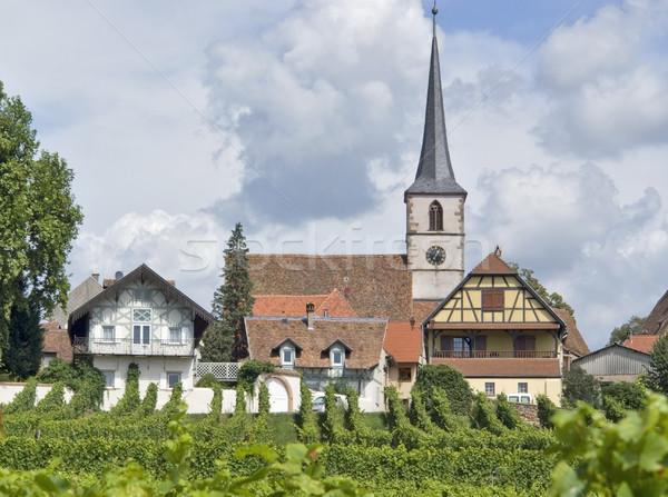 idyllic Mittelbergheim Stock photo © prill