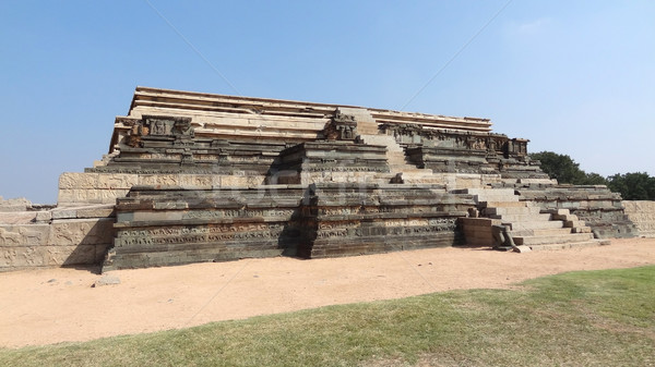 watchtower ruin at Vijayanagara Stock photo © prill