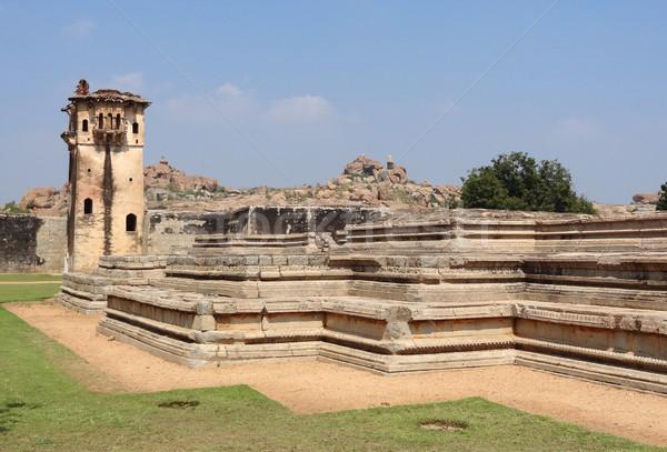watchtower at Vijayanagara Stock photo © prill