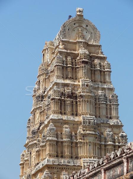Virupaksha Temple at Vijayanagara Stock photo © prill