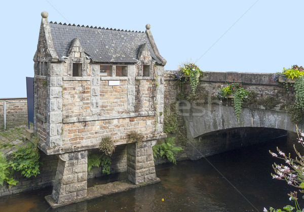 Pont-Aven in Brittany Stock photo © prill