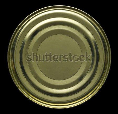 олово можете черный назад продовольствие золото Сток-фото © prill