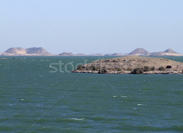 Cenário em torno de lago ensolarado água natureza Foto stock © prill