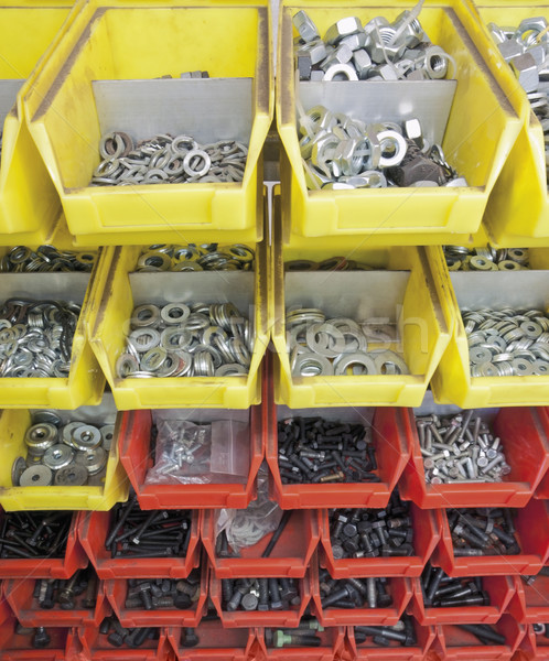 screws and nuts Stock photo © prill