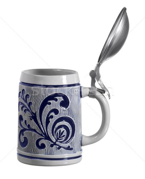 ceramic tankard Stock photo © prill