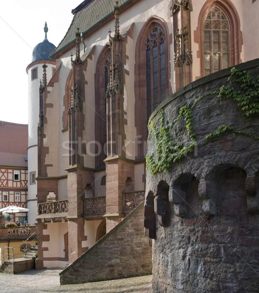 Kilianskapelle in Wertheim am Main Stock photo © prill