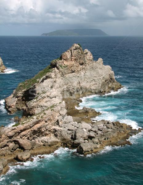 декораций Карибы острове океана рок Сток-фото © prill