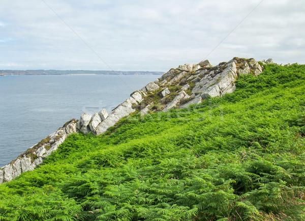 полуостров декораций пейзаж морем горные Сток-фото © prill