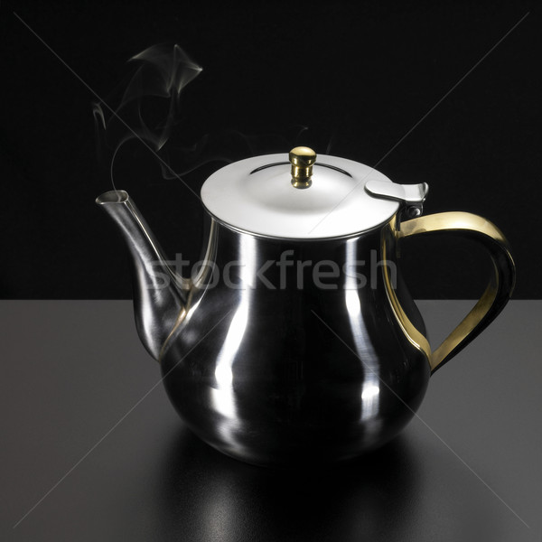 reeky tea pot Stock photo © prill