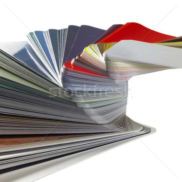 spread color chart detail Stock photo © prill