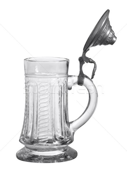 nostalgic glass tankard Stock photo © prill