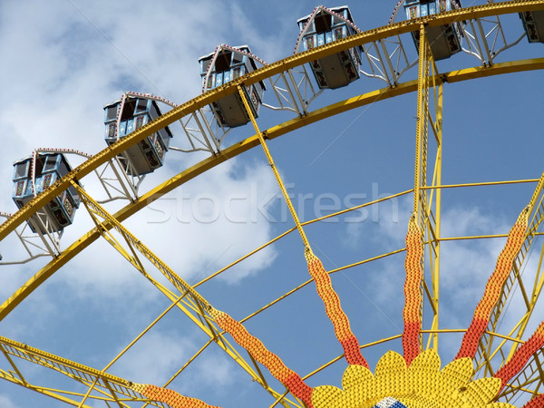 colorful big wheel detail Stock photo © prill
