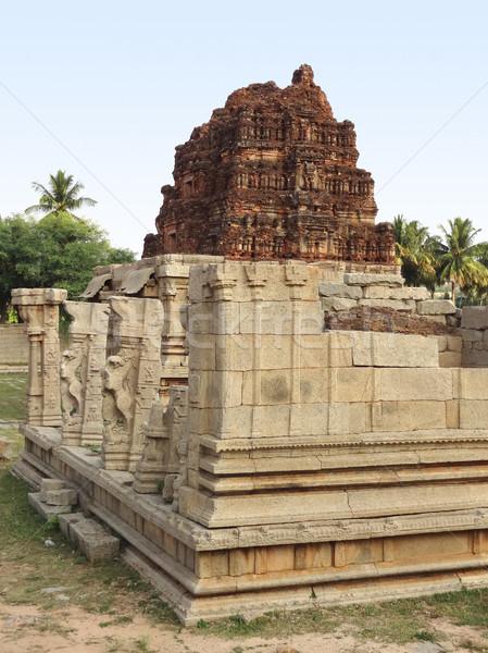 Templo ciudad sur oeste India piedra Foto stock © prill