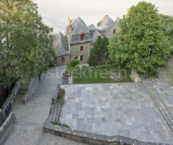 вокруг святой аббатство подробность снизить Нормандия Сток-фото © prill