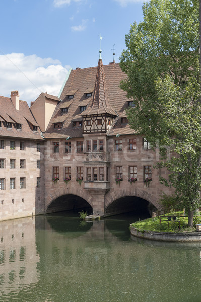 Nuremberg in Bavaria Stock photo © prill