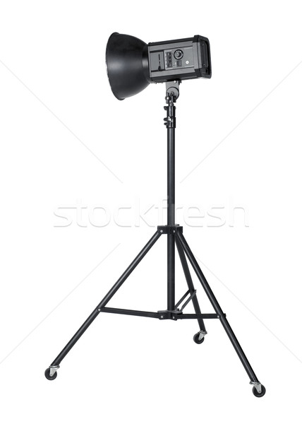 professional flashlight on tripod Stock photo © prill