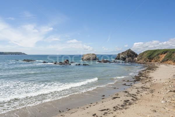 ストックフォト: 半島 · 風景 · 水 · 海 · 海