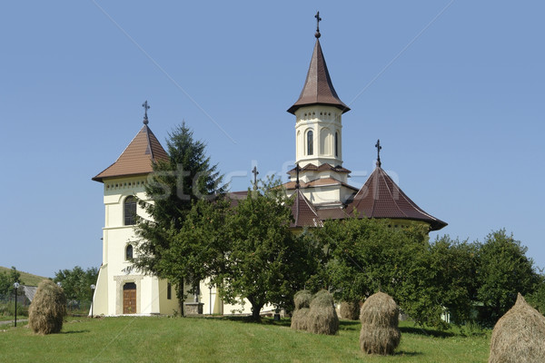church in Romania Stock photo © prill