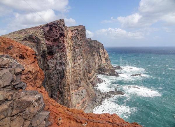 île madère paysages plage nature Photo stock © prill