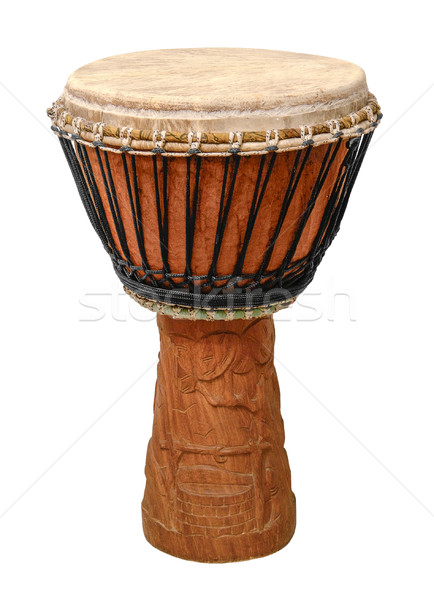 traditional african djembe Stock photo © prill