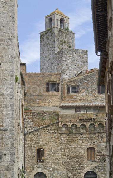 Stock photo: San Gimignano
