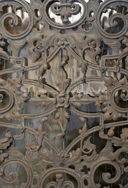 ornamented door detail Stock photo © prill