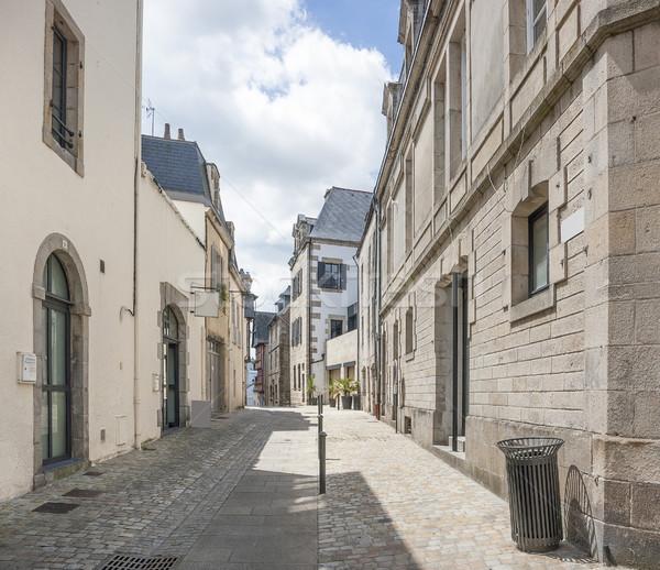 Quimper in Brittany Stock photo © prill