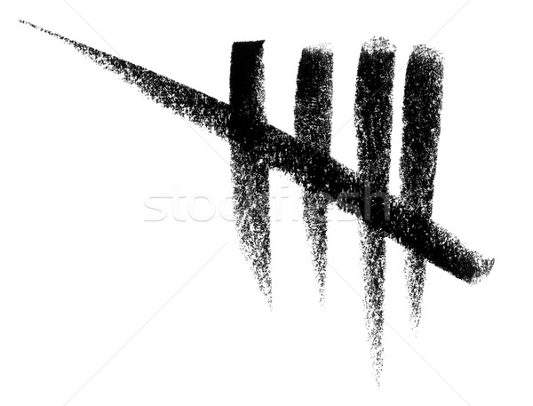 sketched count marks Stock photo © prill