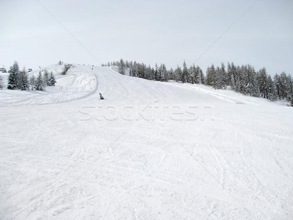 Stock photo: ski slope in Wagrain