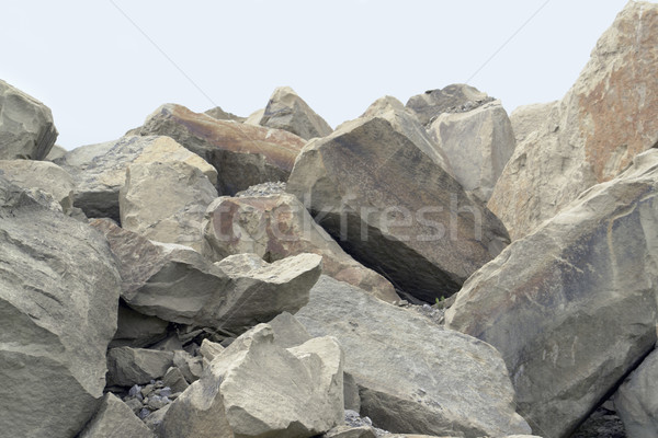 stone pile Stock photo © prill