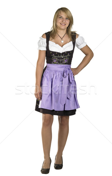 woman in a dirndl Stock photo © prill