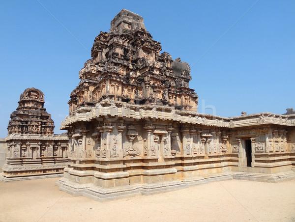 Krishna Temple at Vijayanagara Stock photo © prill