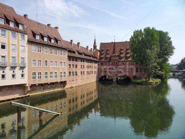 Milieu Allemagne saint esprit bâtiment Photo stock © prill
