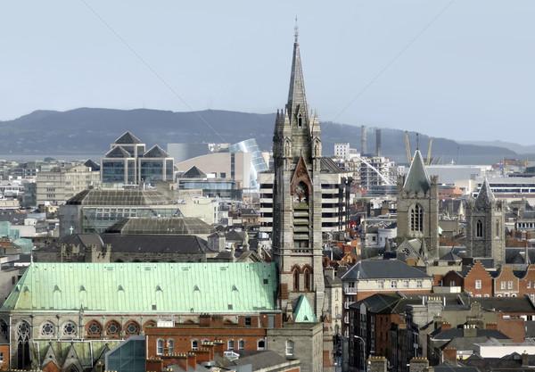 ダブリン アイルランド 表示 市 教会 ストックフォト © prill