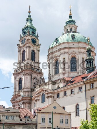 Praha wrażenie Czechy miejskich architektury Zdjęcia stock © prill