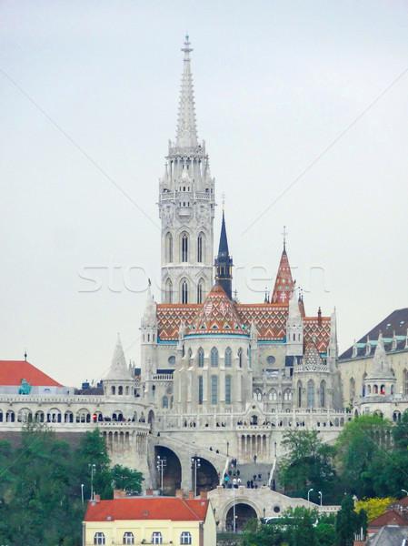 Templom Budapest város épület építészet város Stock fotó © prill