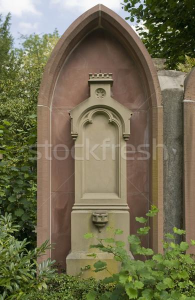 old graveyard in Freiburg Stock photo © prill